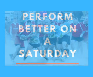 Perform better on a Saturday with optimal rugby nutrition